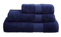 Navy Blue 100% Cotton Turkish Ringspun Towel 500 Gsm
